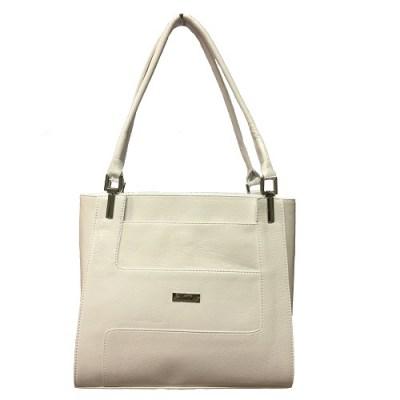 Karen Ludmila dámská kabelka do ruky a přes rameno bila 9a77e3e271d